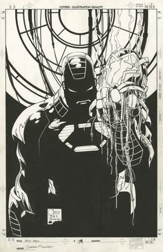 IRON MAN #29 COVER BY JOE QUESADA