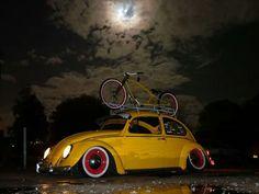 Beatle and bike