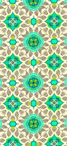 Bright, bold cotton fabric print