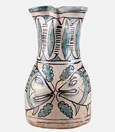 Boccale. Alto Lazio (Viterbo?), prima metà sec. XIII. Museo della ceramica della Tuscia, Viterbo