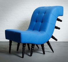 The Milli Chair Is The Millipede of Chairs