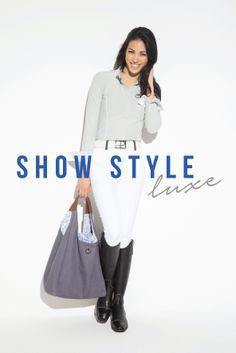 Horseware Platinum S/S14: Show style