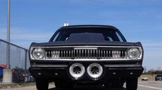 Twin Supercharged Plymouth Duster!