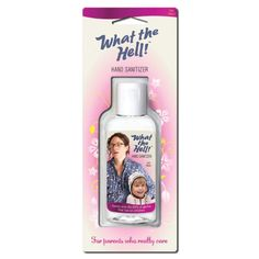 The Quirky. What The Hell! Hand Sanitizer