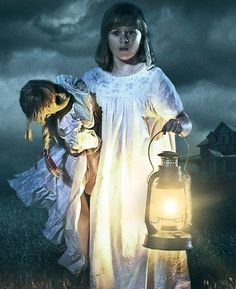 Annabelle Creation - It was quite for all these years. After Samuel and I lost our daughter, we prayed to see our girl again. The contact started small, but then she wanted permission to move into a doll. We soon realized it wasn't our daughter. So we locked it away. We thought helping the girls could be our penance. But we ended up giving it just what it wanted.