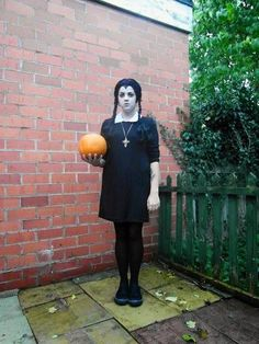 homemade wednesday addams halloween costume - Google Search