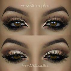 Gold Eyeshadow for Hazel Eyes.