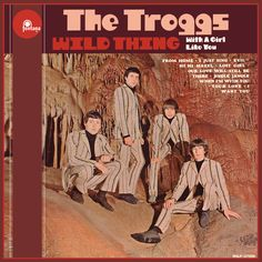 """""""Wild Thing"""" (1966, Fontana) by the Troggs.  Their first US LP.  Contains """"With A Girl Like You."""""""
