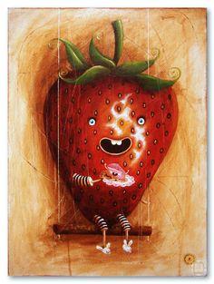 strawberry  http://pantonedesign.blogspot.com/