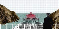 Collage for Exhibition: STRAIT