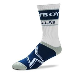 Men s Dallas Cowboys Bar Stripe Socks by For Bare Feet Pro Image Sports at  Mall of America Material  Spandex Large fits men s shoe sizes Built for  comfort ... 9500ca882