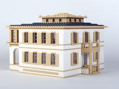 Architektur mit LEGO   Architecture with LEGO bricks.