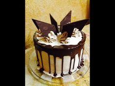 Chocolate Dessert Cake- Cake Decorating - YouTube