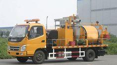 Convenient and efficient pavement integrated maintenance car
