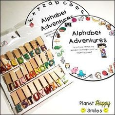 Alphabet Wheels for Hands on Fun! Your students will LOVE this hands-on station! Pre Kindergarten, Kindergarten Activities, Classroom Activities, Preschool Set Up, Prek Literacy, Alphabet Activities, Preschool Alphabet, Letter Matching, Beginning Of The School Year