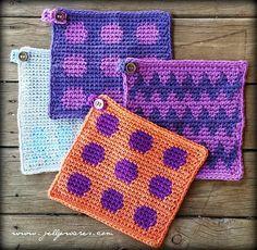 Tapestry crochet tutorial... looks like fun.