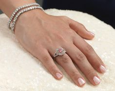 """""""As time goes on, stones of this quality are beyond rare. We relished designing such an exquisite statement piece. The ring is an indulgence of our passion for Argyle diamonds and our love for crafting extraordinary and beautiful jewellery."""" Steve Turner, owner and master jeweller, Nina's #WesternAustralia"""