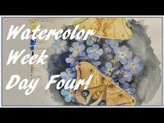 Watercolor Week  Day 4 - YouTube