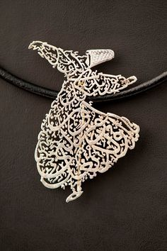 Arabic Calligraphy Jewelry Objects Of Script Pinterest