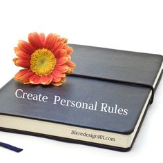 The Secret to Success: Create Personal Rules
