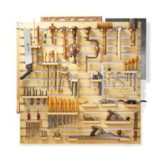 How to build a tool rack. (garage idea)
