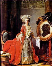 Jean-Marc Nattier, Madame Adélaïde de France (1750) - マリー・アデライード・ド・フランス - Wikipedia