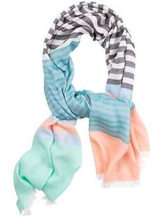 Marc by Marc Jacobs Home Stripe Scarf | Piperlime