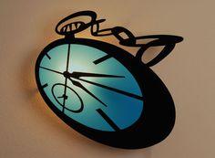 lámpara reloj