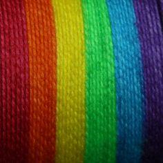 Self striping Sock Yarn, Neon Rainbow, Hand Dyed, Merino/Nylon - BRIGHT RAINBOW etsy $26-100g