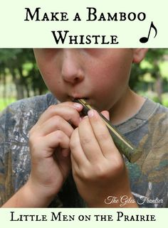 Immersion Learning with Bamboo Whistles, how to use this as a multi subject lesson in home schooling.