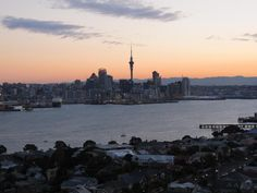 Catch a sunset over Auckland from Mt Victoria in Devonport min ferry away from Auckland) Us Images, Best Cities, Auckland, Small Towns, New Zealand, New York Skyline, Commonwealth, Sunset, Explore