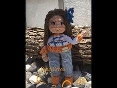 Como tejer pantalón muñeca Paola amigurumi By Petus TERCERA PARTE 3/7 - YouTube