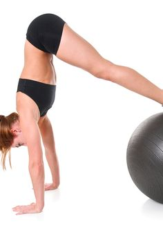 10 Ways to Use Your Stability Ball!