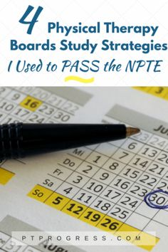 PT Boards: National Physical Therapy Examination Study Guide for 2018 How to Pass the NPTE: National Physical Therapy Exam. Passing PT Boards your first time is possible! Learn from 3 graduates who passed the PT Boards Exam. Sports Physical Therapy, Physical Therapy Student, Doctor Of Physical Therapy, Pediatric Physical Therapy, Physical Science, Physical Therapist, Occupational Therapy, Study Board, Board Exam