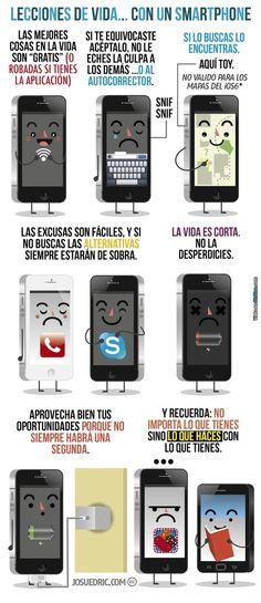 Lecciones de vida de parte de un SmartPhone