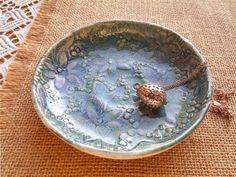 blau Keramik Schale, Schmuck Aufbewahrung, Schmuck Schale, Ring Schale, Juwelen Aufbewahrung, Keramik Schale, Tisch Deko, Wohndekor Geschenk von ceralonata auf Etsy