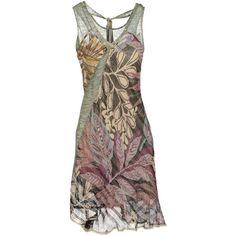 PIANURASTUDIO Short dress ($248) found on Polyvore