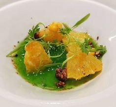 Naranja eucalipto y perifollo en @ricardcamarena