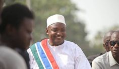 Gambian president-elect Barrow confirms his inauguration will take place in Senegal