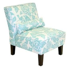 love the pattern - Emily has this chair in her house and a great price too!