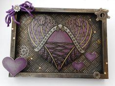 Created by  Marie Jones using #SpectrumNoir Colorista Dark & Metallic pencils! #crafterscompanion