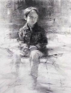 Hsin-Yao Tseng, Kid with Denim Jacket on ArtStack #hsin-yao-tseng #art