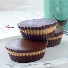 Homemade Peanut Butter Cups -  A dozen in a cute candy tin or gift box is a great Christmas gift. Also, we like to use silver or colored wrappers to out the cups in. It really adds an extra touch!