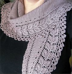 10 Stylish Free Knitting Scarf Patterns |  Mooie patronen gratis te downloaden
