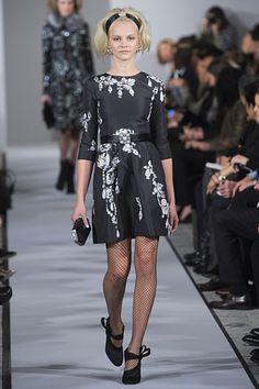 New York Fashion Week Fall 2012 - Oscar de la Renta #nyfw