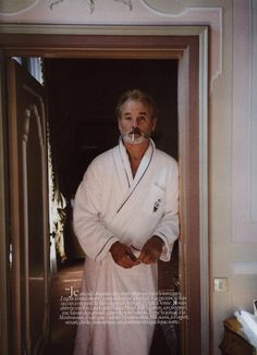 bill murray bathrobe - Google-søgning