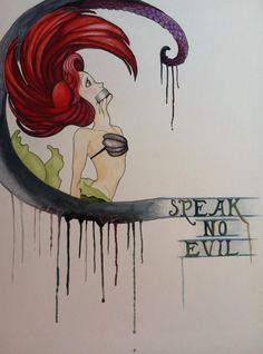 Speak No Evil: Ariel by CrunchyCrystal.deviantart.com
