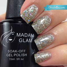 Madam Glam Stardust - swatch by Chickettes.com