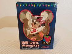 Disney Mini Mouse  Tree-rific Treasures Hanging Ornament Enesco #Enesco