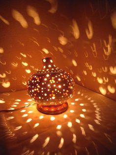 100%HANDMADE Gourdlamp interior homedesign anniversary mother's day gift ideas